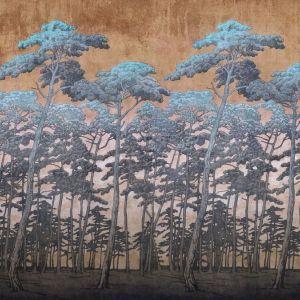 Okładzina ścienna Secret forest. Fot. Galeria Wnętrz Domar / Magic home
