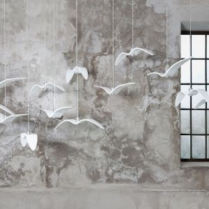 Nights Birds - projekt designera Borisa Klimka dla marki Brokis. Fot. Brokis