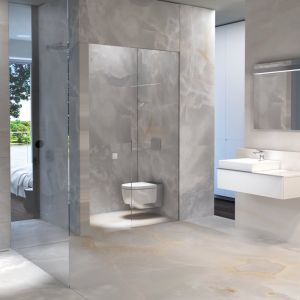 Użytkownicy pragną dziś przede wszystkim lepszej organizacji przestrzeni w łazience, która da im poczucie przestronności wnętrza. Fot. Geberit