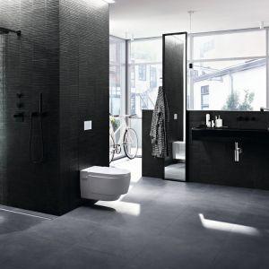 Lepsza łazienka to taka, w której zachowanie higieny jest proste i nie wymaga nakładu sił oraz czasu. Fot. Geberit