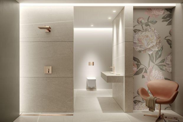 Łazienka w jasnych kolorach. To jest modne!