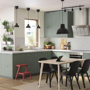Meble do kuchni: fronty Bodarp. Meble dostępne w ofercie IKEA. Fot. IKEA