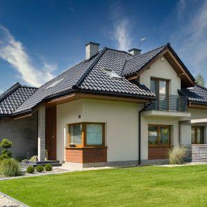 Dom z dachówką Titania marki Creaton, zaprojektowany przez biuro Archon+. Fot. mat. prasowe Creaton