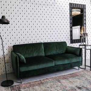Welurowa sofa dwuosobowa Liva firmy PTMD Collection dostępna w ofercie sklep.zielonafabryka.pl. Fot. Zielona Fabryka