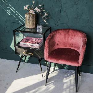 Krzesło Mace firmy PTMD Collection dostępne w ofercie sklep.zielonafabryka.pl. Fot. Zielona Fabryka