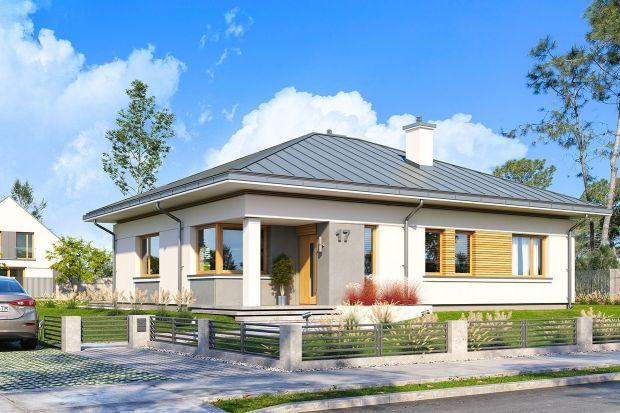 Mały, prosty, energooszczędny dom z funkcjonalnym wnętrzem i ciekawą architekturą. Będzie łatwy i niedrogi w budowie, a dziękidobrym izolacjom i nowoczesnym instalacjom niedrogi w późniejszej w eksploatacji.