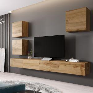 VIGO 22 to nowoczesne meble, dzięki którym zaaranżujemy pokój dzienny czy salon. Fot. ActiveJet