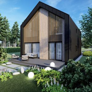 Kolejna duża zaleta, jaką mogą pochwalić się domy stalowe, to wyjątkowa energooszczędność. Fot. Stalovers