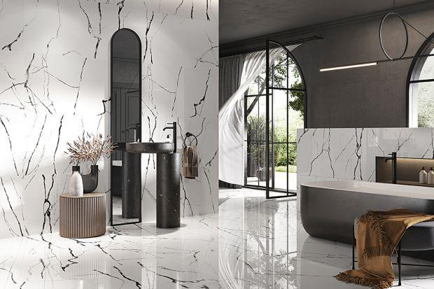 Płytki to doskonały materiał nie tylko na ściany czy podłogi w łazience. Sprawdzą się także w salonie, a nawet sypialni. Modne wzory przyciągają uwagę.