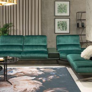 Sofa z szezlongiem Soprano marki Kler