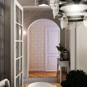 63-metrowy dom w stylu boho. Projekt: Weronika Messyasz, Messyasz Design Lab