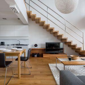 Blaty drewniane nadają się do wykonania schodów w najróżniejszej formule. Fot. DLH