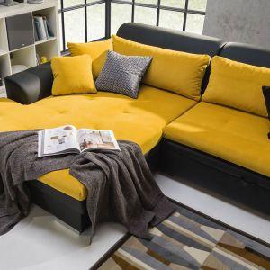 Forma i wymiary narożnika Capri oferują bardzo komfortową przestrzeń, służącą dziennemu odprężeniu i nocnemu odpoczynkowi. Fot. Stagra Meble
