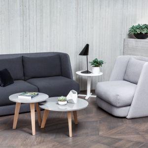 Zaprojektowany dla polskiej firmy meblarskiej Comforty fotel MELLOW. Projekt: Maja Ganszyniec. Fot. Comforty