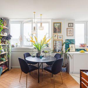 Salon miłośnika roślin i kolorów. Projekt: Barbara Godawska z iHome Studio. Fot. Przemysław Kuciński