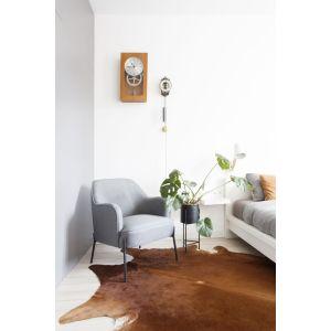 W łazience i sypialni znajdziemy grzejniki Vasco – modele Carre i Flatline. Projekt: Paulina Kostyra-Dzierżęga. Fot. Barbara Adamek