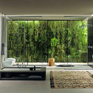 Nowoczesna łazienka. Citterio bathroom green mood