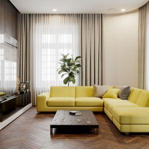 Sofa modułowa z Yellow z oferty marki Design Expo. Do kupienia w Galerii Wnętrz Domar. Fot. Galerii Wnętrz Domar