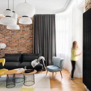 Fotel w salonie.  Projekt Anna Maria Sokołowska. Fot. Paweł Mądry