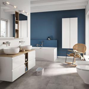 Kolekcja mebli łazienkowych Moduo. Fot. Cersanit