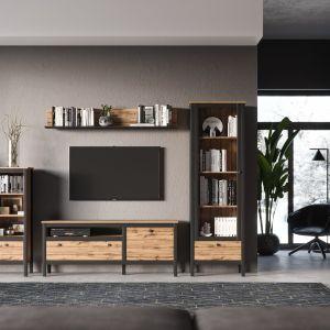 Meble do salonu: kolekcja Loft w nowoczesnym stylu. Sprzedaż: Salony Agata
