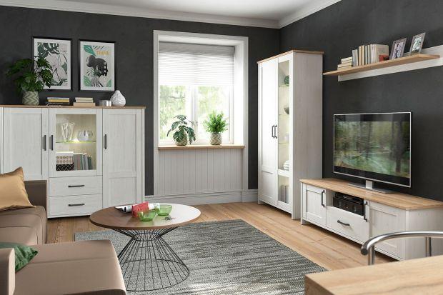 Meble na ścianę z telewizorem: 10 pomysłów na ładną meblościankę