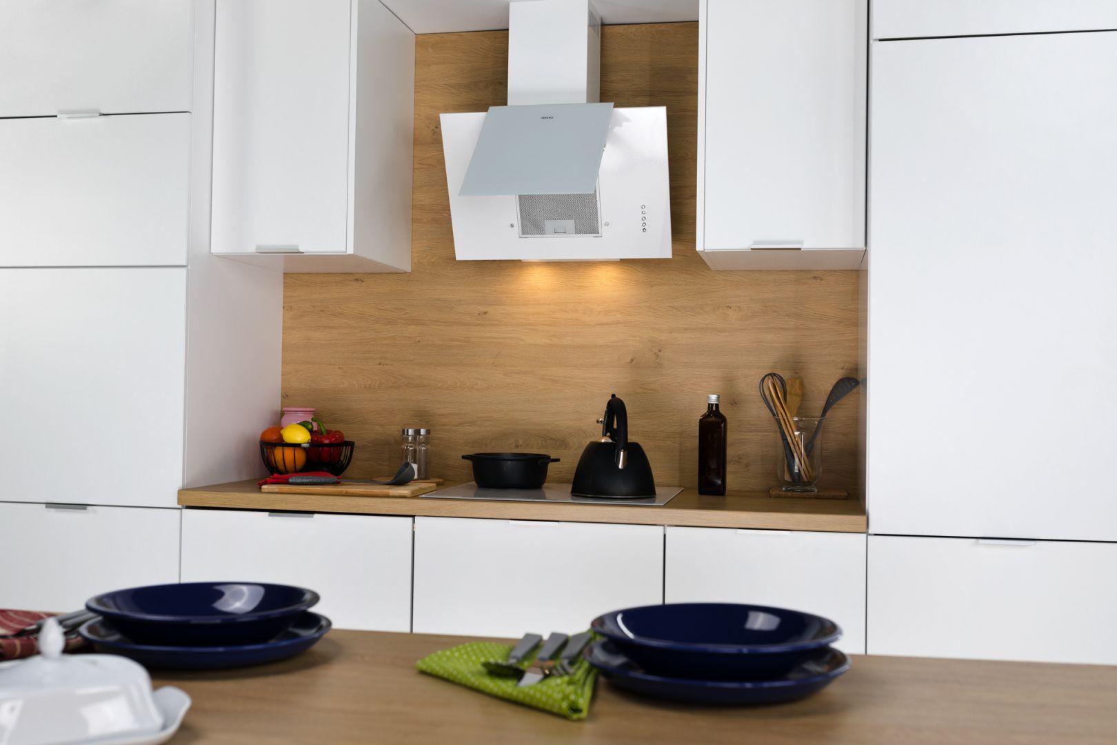 Okap w nowoczesnej kuchni. Fot. mat. prasowe Akpo