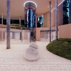 Dom Tree House. Projekt Przemek Olczyk Mobius Architekci