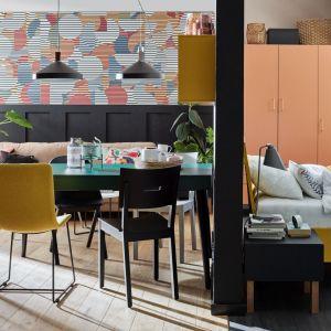 Wiosenne trendy w salonie. Pastelowe kolory, na zdjęciu kolekcja Creative od Vox. Fot. VOX/Galeria Wnętrz Domar