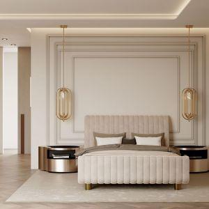 Główna sypialnia. Projekt i zdjęcia: Covet House