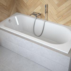 Wanna może być dobrym wyborem nawet w małej łazience, pod warunkiem, że wybierzemy odpowiedni model. Na zdjęciu Besco: Intrica Slim. Fot. Besco