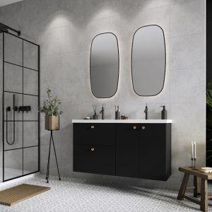 Wyrazista stylistyka to znak rozpoznawczy nowej kolekcji Kido marki Elita, która ze względu na swoją nietypową głębokość 360 mm idealnie wyposaży wąskie łazienki. Fot. Elita Meble