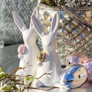 Wielkanocne ozdoby mają zróżnicowaną paletę barw – od tych intensywnych i soczystych, po naturalne i przygaszone. Fot. KiK Textil