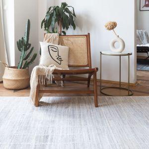 Ręcznie tkane w Indiach dywany z nowej polsko-indyjskiej marki Samarth. Fot. Samarth