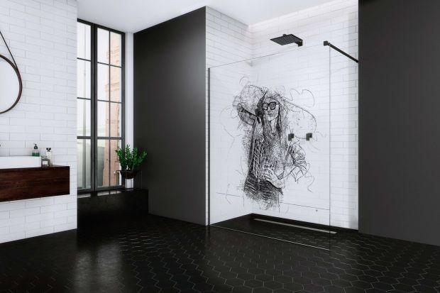 Kabina z kolorowym nadrukiem na szkle - brzmi ciekawie i tak też wygląda!Taki pomysł jest w stanie odmienić nie tylko strefę prysznicową, ale całą łazienkę. Klienci marki mogą zamawiać produkty z wielobarwnym wzorem na szybie.