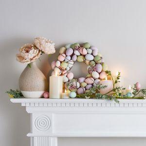 Pastelowa dekoracja wielkanocna. Fot. Lights4fun