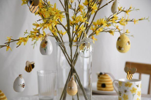 Wielkanocne ozdoby. Zobacz 20 świetnych pomysłów na świąteczne dekoracje domu