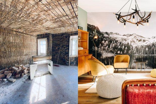 Szokująca przemiana wnętrza starego domu. Zobacz zdjęcia przed i po