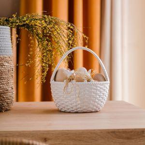 Kolekcja naczyń, dodatków i dekoracji w naturalnym stylu, przygotowana na Wielkanoc przez Home&You. Fot. Home&You