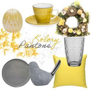 Stół na Wielkanoc w modnych kolorach Pantone. Fot. Salony Agata