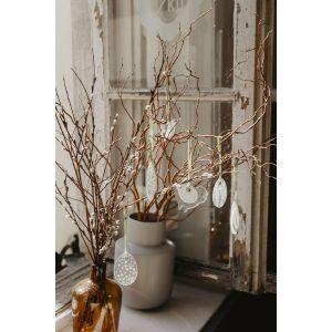 Wielkanocne dekoracje: ceramiczne ptaszki. Fot. Pakamera.pl