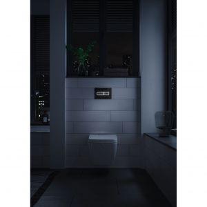 Ciekawą propozycją są przyciski wyposażone w technologię LED podświetlającą kontury klawiszy oraz czujnik ruchu. Fot. Tece