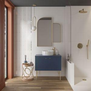 Płytki do łazienki z kolekcji Safina. Fot. Cersanit