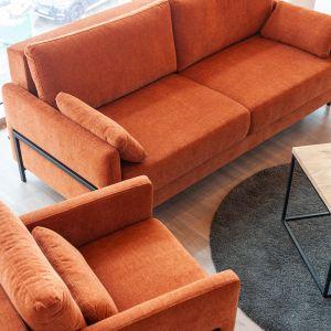 Zestaw Modo to nowoczesne połączenie skandynawskiego stylu z loftowym akcentem w postaci ozdobnej, metalowej ramki.
