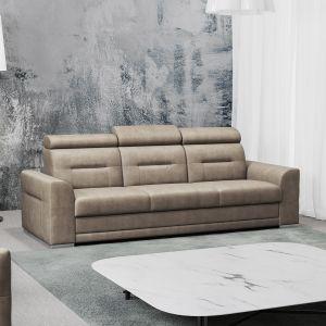 Costa 3F to 3-osobowa sofa z funkcją spania. Jest prosta w formie i nowoczesna.