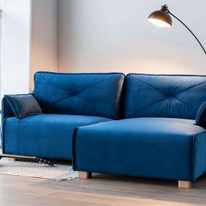 Sofa modułowa Nino składa się z trzech z modułów o szerokości siedziska równej 1 metra, na których wypoczywać może komfortowo nie jedna, a dwie osoby. Fot. MP Nidzica