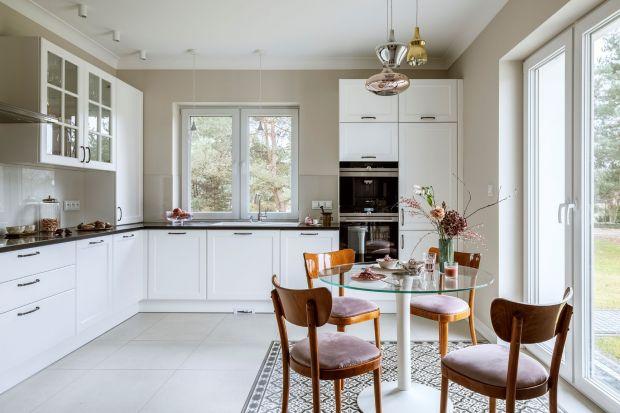 Piękny dom w stylu modern classic