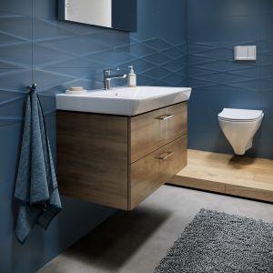 W portfolio kolekcji Mille od marki Cersanit znajdziemy umywalki, kabiny prysznicowe, miski zawieszane czy sety ceramiczno-stelażowe. Fot. Cersanit