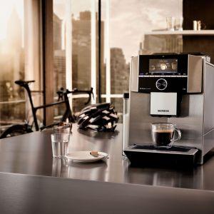 W pełni automatyczny ekspres Siemens EQ.9 plus zapewni, że każda kawa przyrządzana w domu będzie wyjątkowa. Fot. Siemens