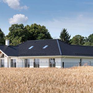 Klasyczna willa w nowoczesnym wydaniu - ciekawy projekt domu. Fot. mat. prasowe Creaton